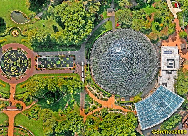 The Climatron At The Missouri Botanical Garden