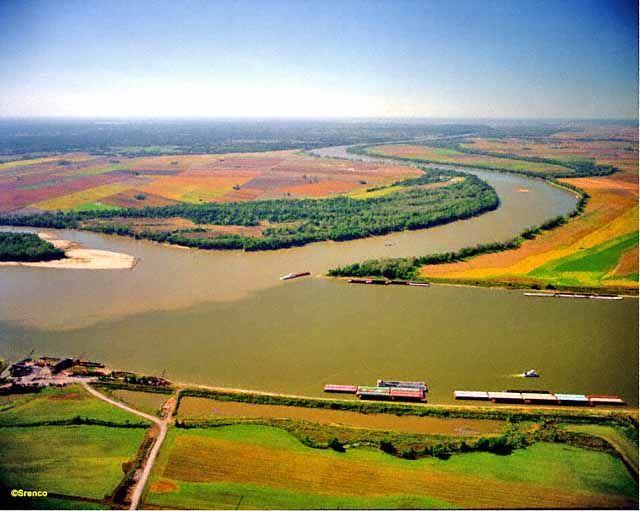 Confluence Mississippi Missouri River